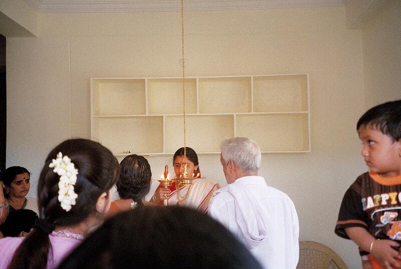 Индийское освящение квартиры