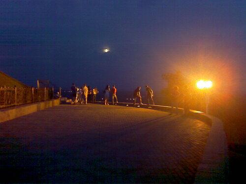 Вид со смотровой площадки у памятника Салавату Юлаеву