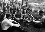 Эдит Пиаф в лагере для военнопленных
