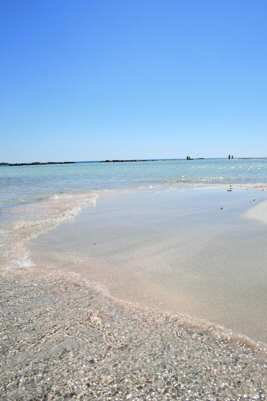 Крит, Розовый песок Элафонисси