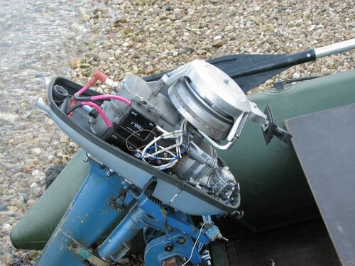 мотор для лодки самодельные фото