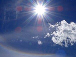 солнце и радуга (гало)