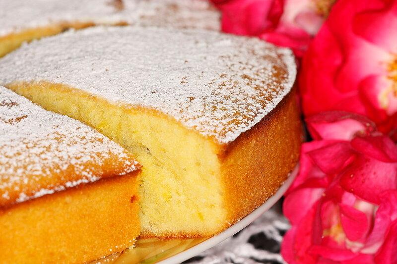 Лимонный бисквит! Нежный, воздушный, ароматный