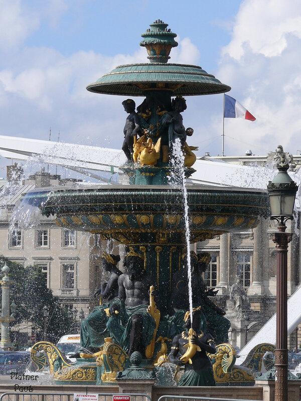 фонтаны на площади Согласия
