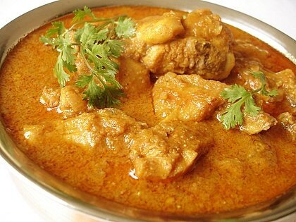 курица в карри индийский рецепт