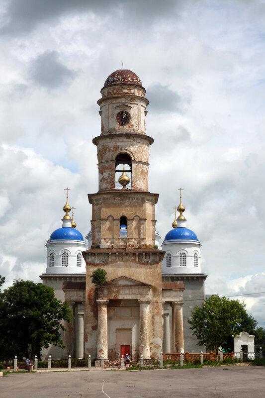 Колокольня храм
