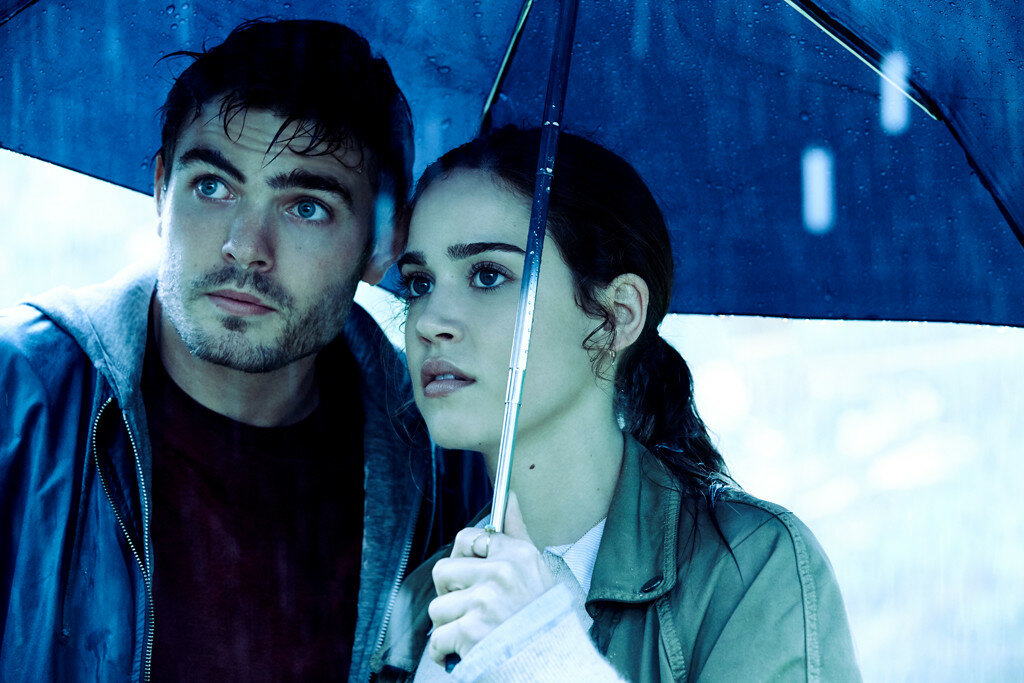 Matilda Lutz as Julia and Alex Roe as Holt in RINGS by Paramount Pictures