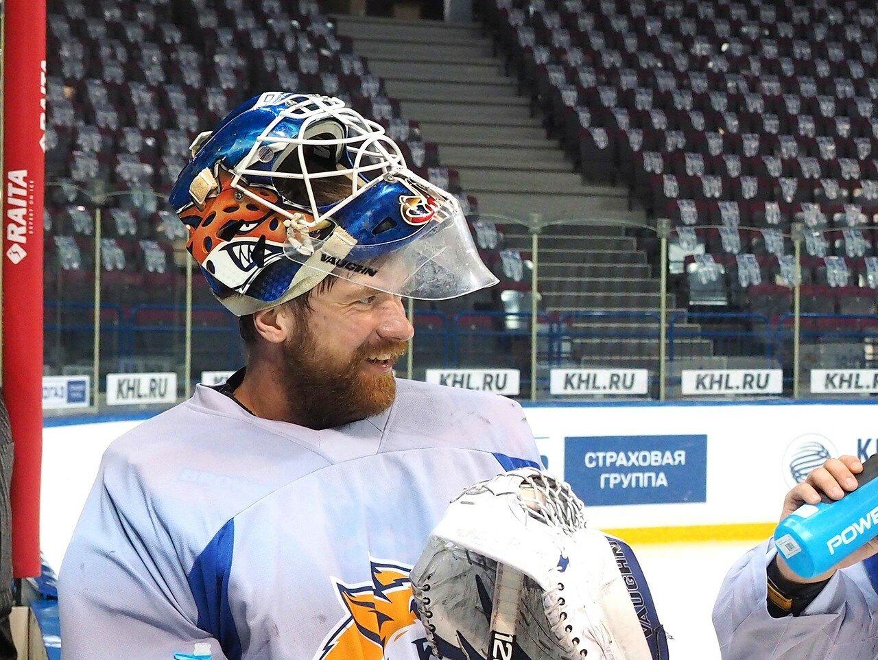 32 Открытая тренировка перед финалом плей-офф КХЛ 2017 06.04.2017