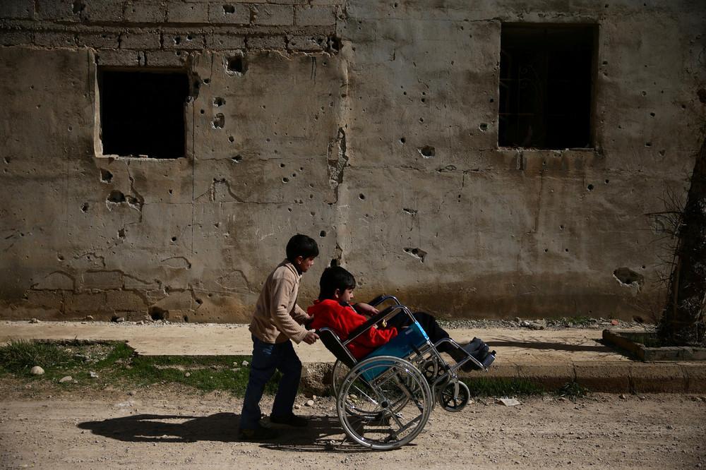 Фотографии, сделанные в марте в Сирии