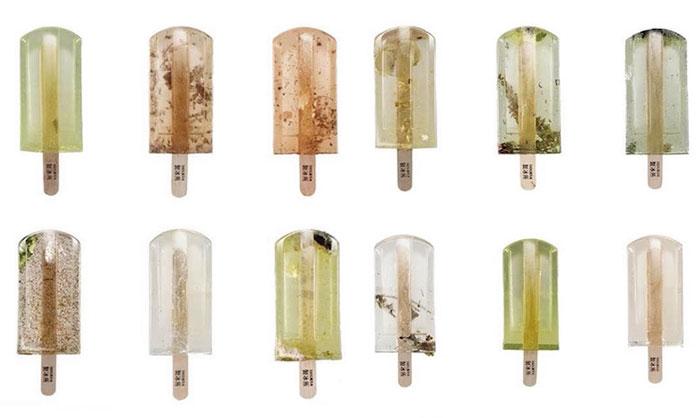 Мороженое из грязных сточных вод