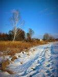 Солнечный день 15 января Нового года.