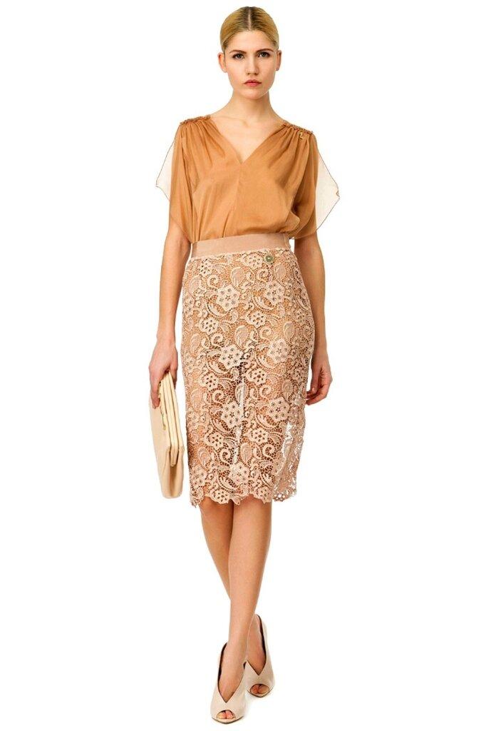 Кружевная юбка карандаш сшить