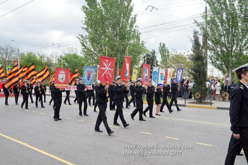 Шествие Бессмертного полка, Керчь