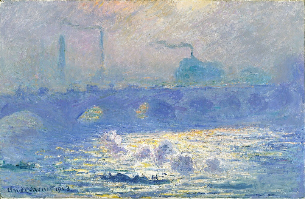 Claude Monet - Waterloo Bridge 1903