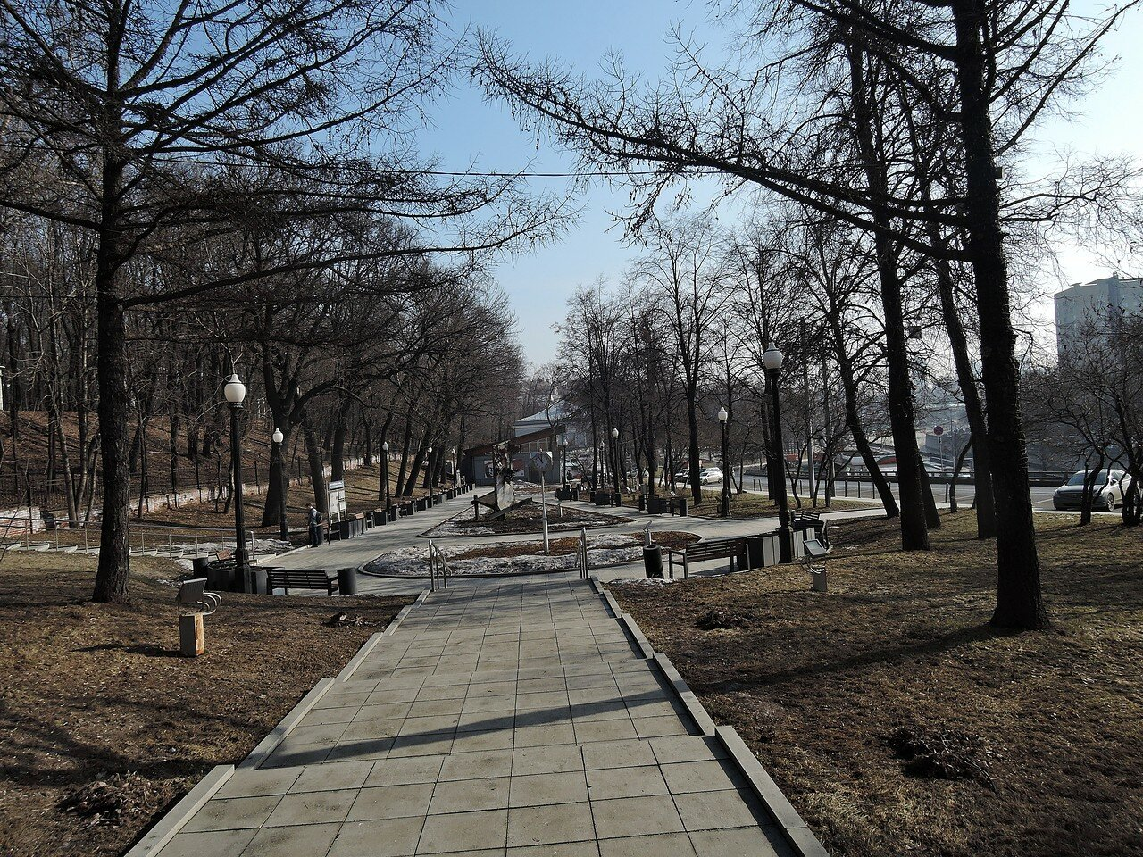 Сквер возле музея имени А.Д.Сахарова.