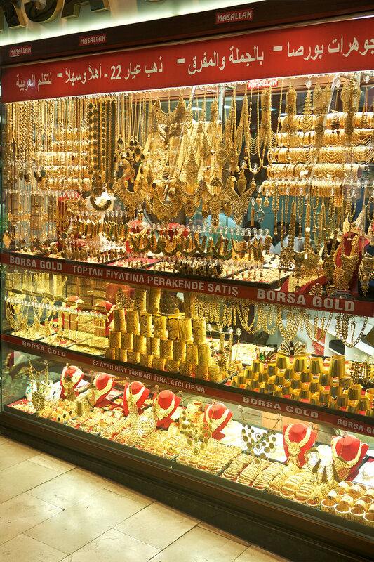 Стамбул золото Гранд Базар