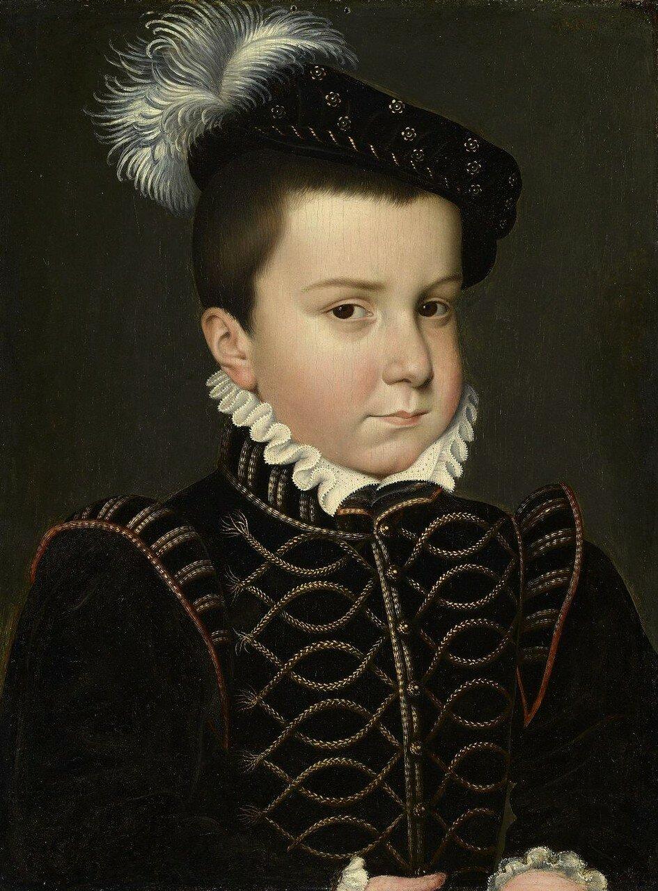 Эркюль-Франсуа, герцог Алансона и Анжу (1555-1584)_1561_31.3 х 23.5_д.,м._Англия, Королевская коллекция.jpg