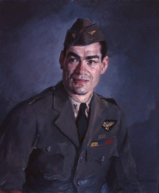 William F. Draper - Study of Machinist Marshall Lee Shepherd, USN. (1942)
