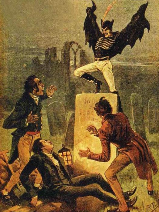 Пострадавшие описывали Джека как сильного человека высокого роста с «дьявольскими», заостренными