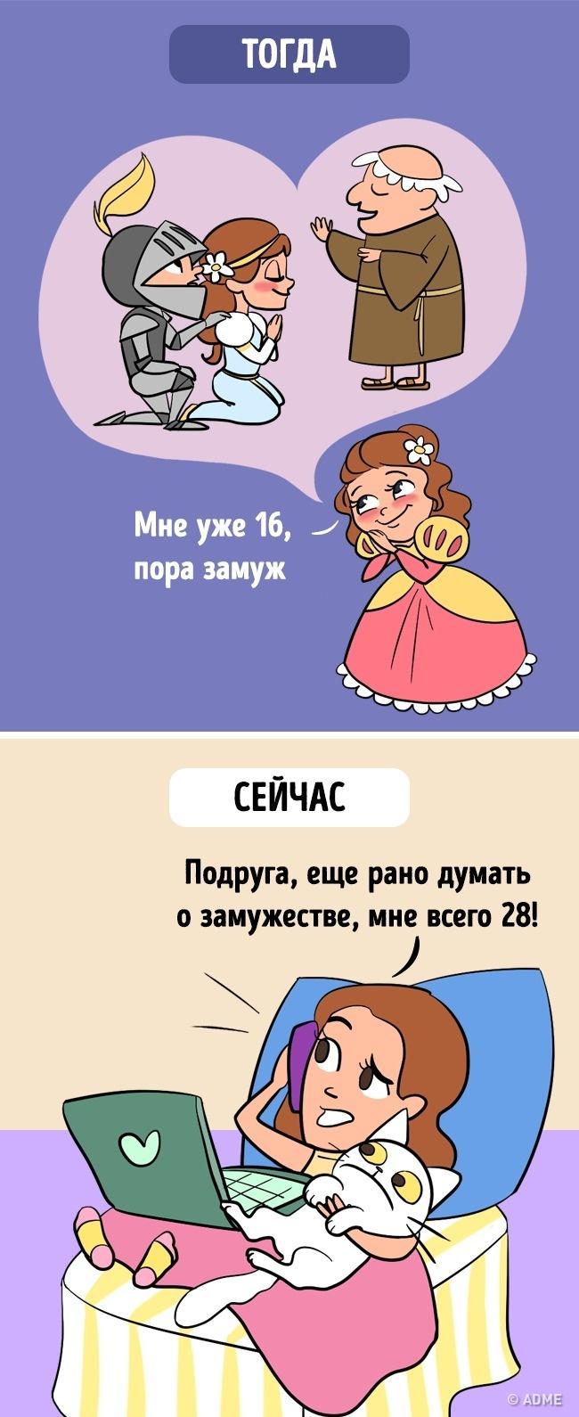 15иллюстраций отом, что время летит как сумасшедшее (15 фото)