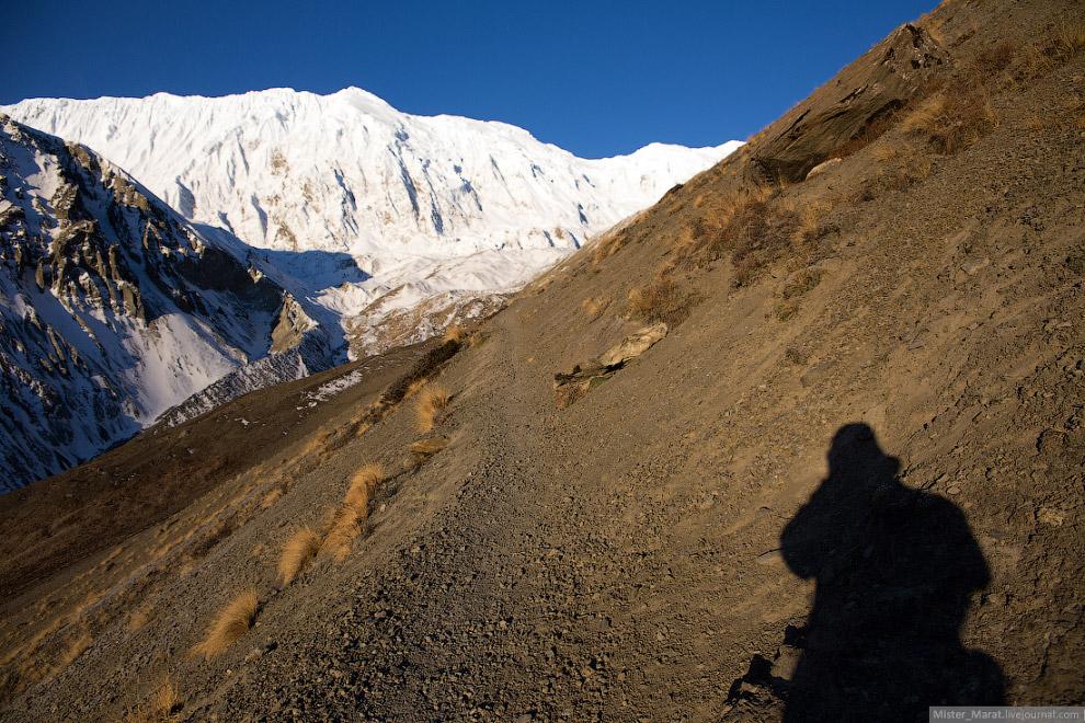 4. С высоты 4100 метров следовало подняться на 5010 метров, чтобы увидеть легендарное озеро Тил