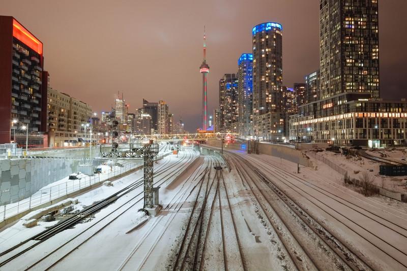 Си-Эн Тауэр в Торонто.