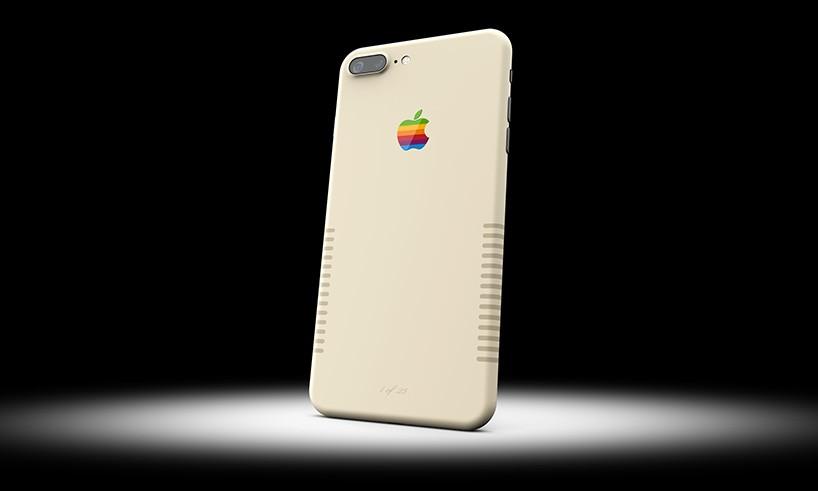 Винтажный iPhone 7 Plus (3 фото)
