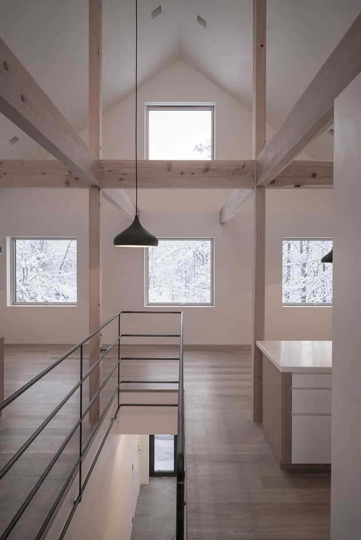 Зимний дом на острове Хоккайдо