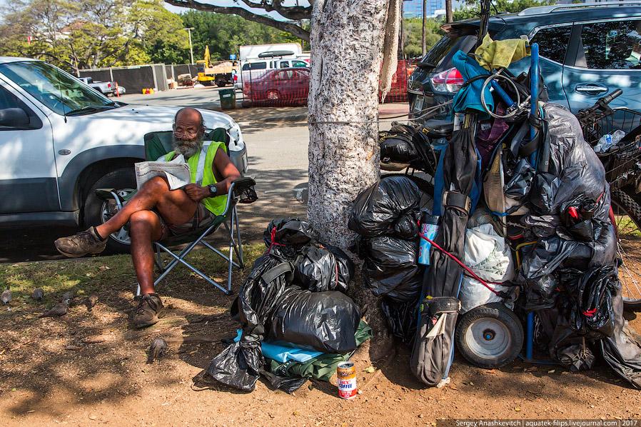3. Гавайи еще и место странных людей. Не фриков, а именно странных людей, которых здесь на улиц