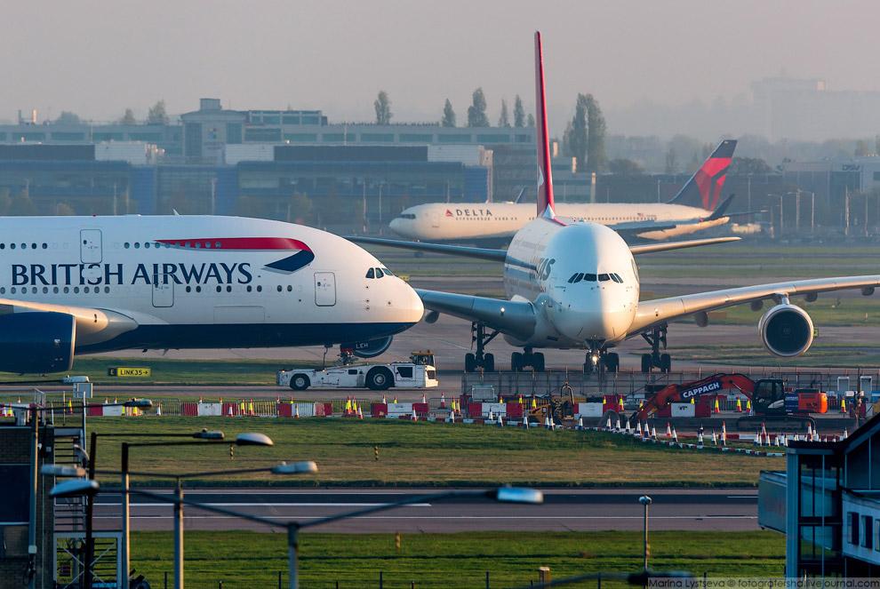 25. Австралийский перевозчик Qantas и один из двенадцати его гигантов. Всего заказано 20.