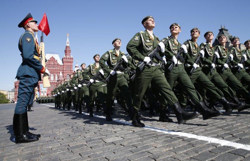 Наиболее популярный  запрос украинцев вGoogle 9мая— «Парад Победы вМоскве»
