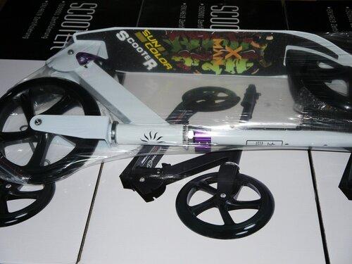 Самокат Sun Color Scooter SKL-037 X-Man с большими колёсами