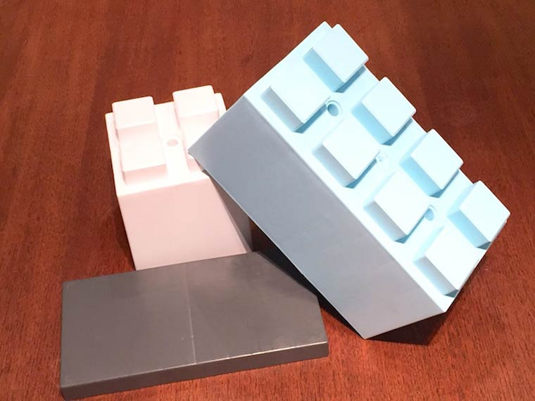 EverBlocks - Some giant LEGO bricks created for the joy of grown ups