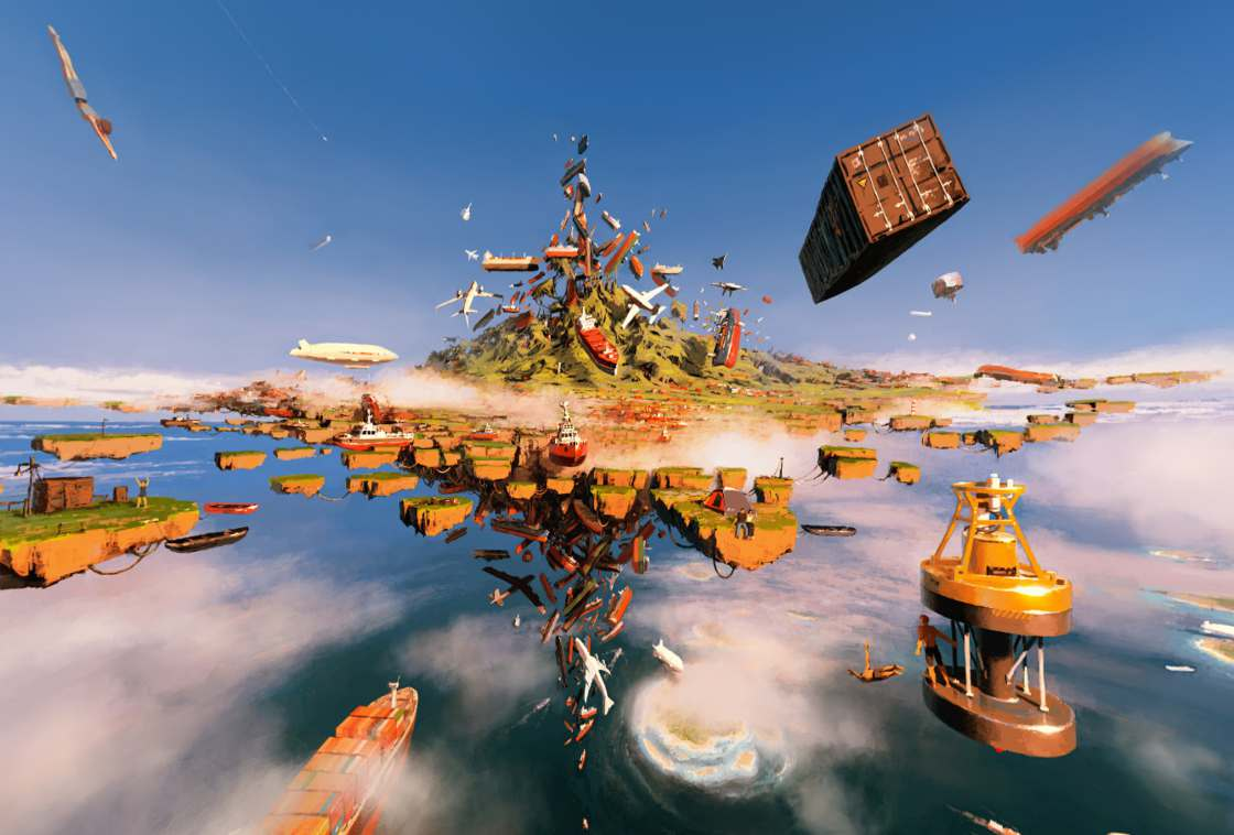 Separate Reality - Explore these impressive paintings with virtual reality