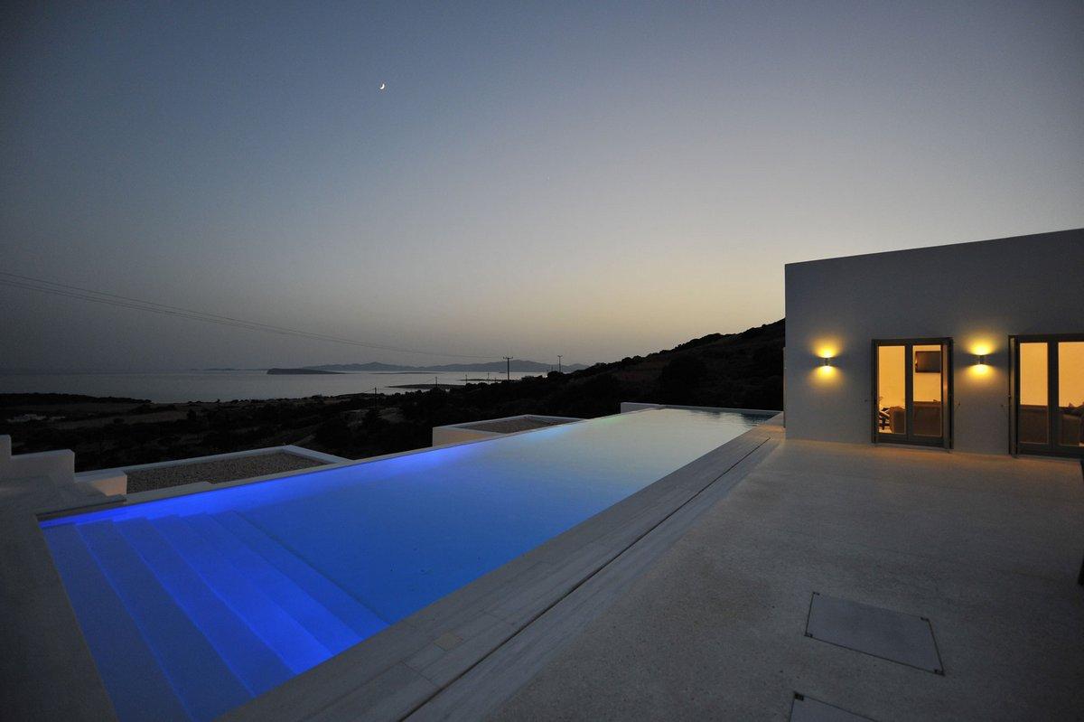Греческая вилла на острове Парос