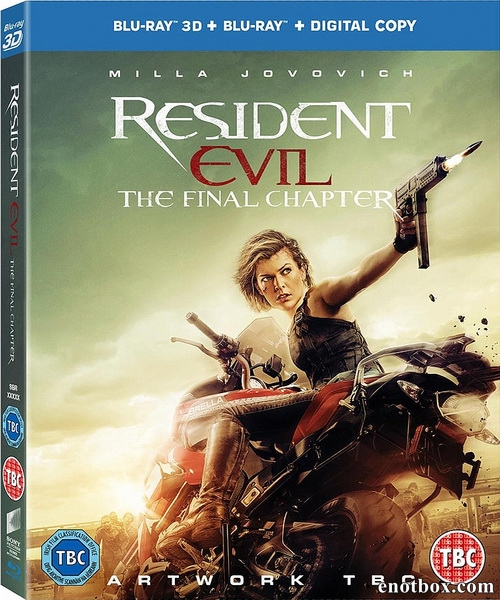 Обитель зла: Последняя глава / Resident Evil: The Final Chapter (2016/BDRip/HDRip/3D)