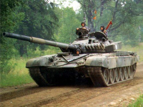 Танк Т-72 - Болталка