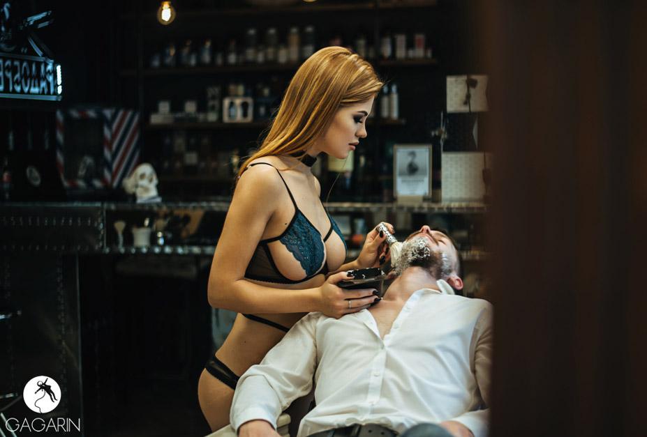 сексуальный брадобрей Александра Тисленок, фотограф Алита Пономарева