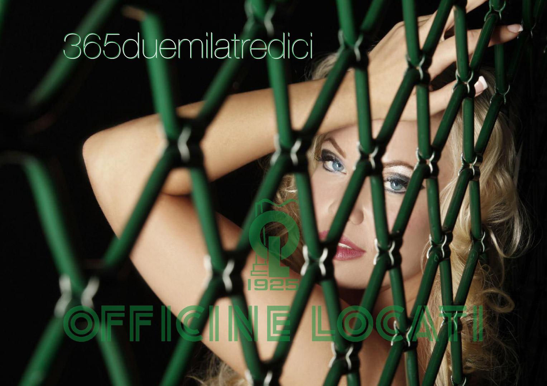 Frida Reuterskiöld nude by Riccardo Tagliabue / Officine Locati 2013 calendar