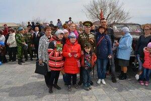 72 –й  Парад Победы в Борзе