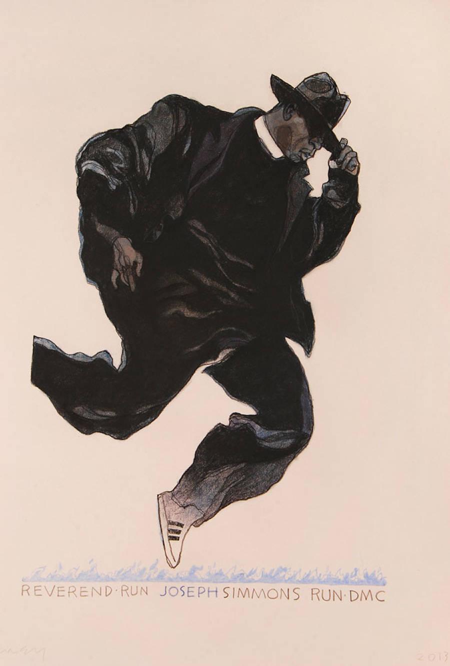 Original Illustrations of Celebrities by Gary Kelley