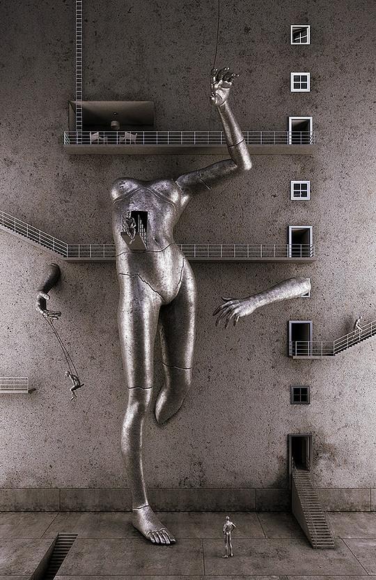 HOT 3d Art by Adam Martinakis