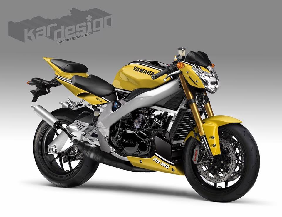 Kardesign: концепт Yamaha RD350 YPVS