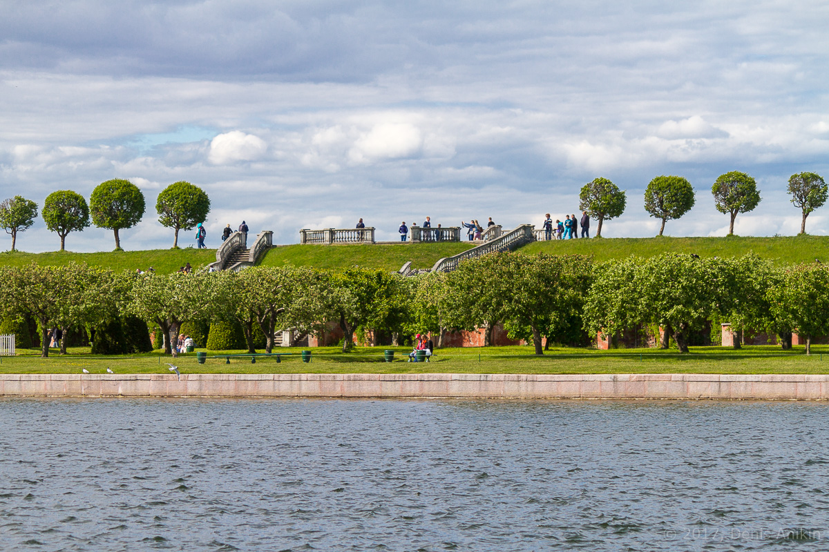 Дворец Марли Петергоф фото 3