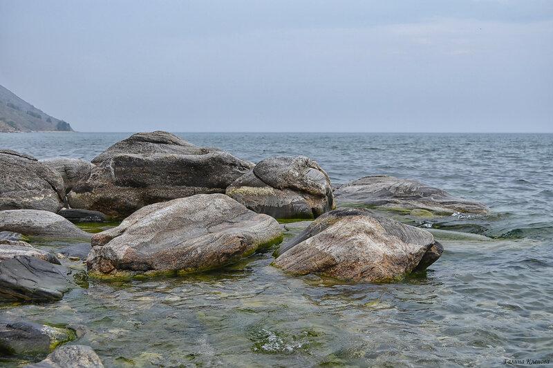 Байкал. Камни.