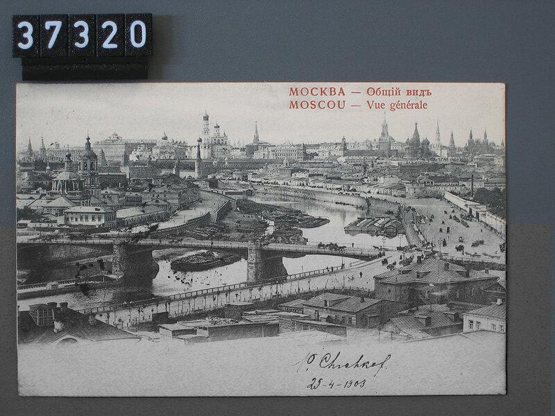 Старая Москва в коллекции открыток Адольфа Феллера