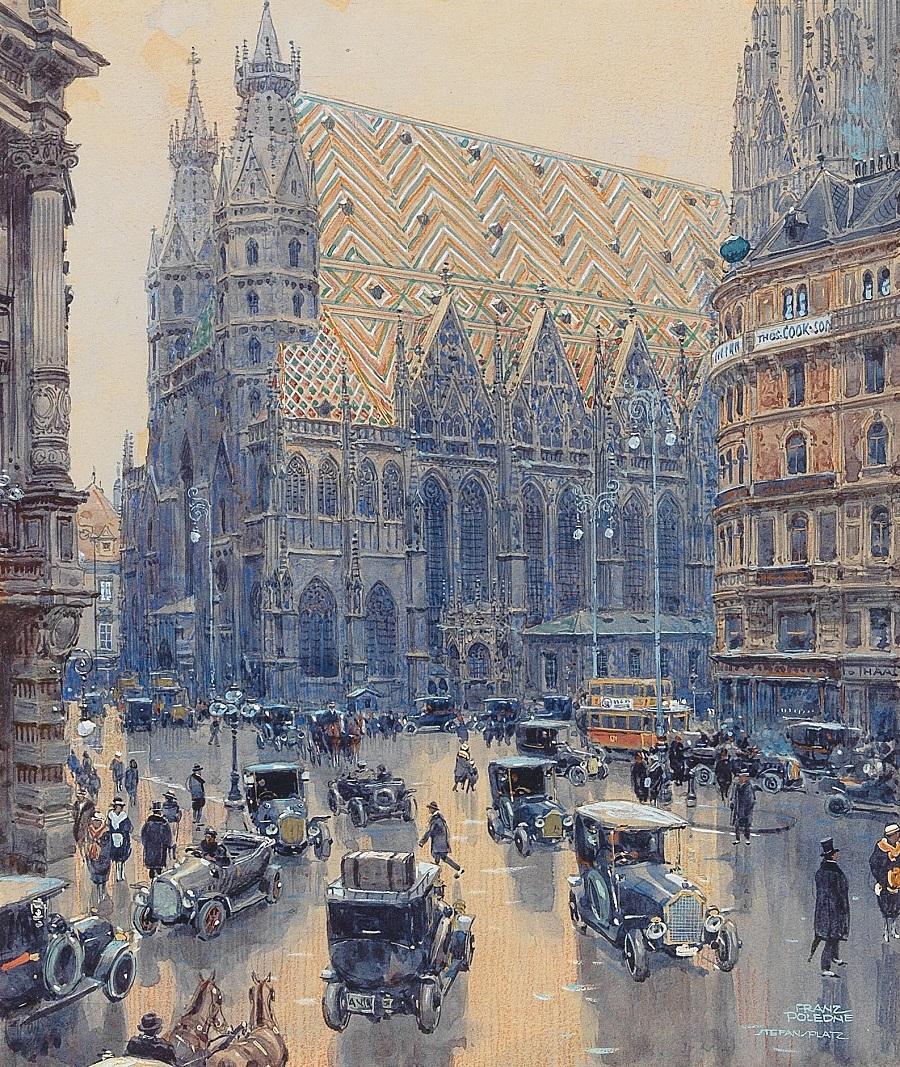 Franz Poledne (Wien 1873-1932 Klosterneuburg)