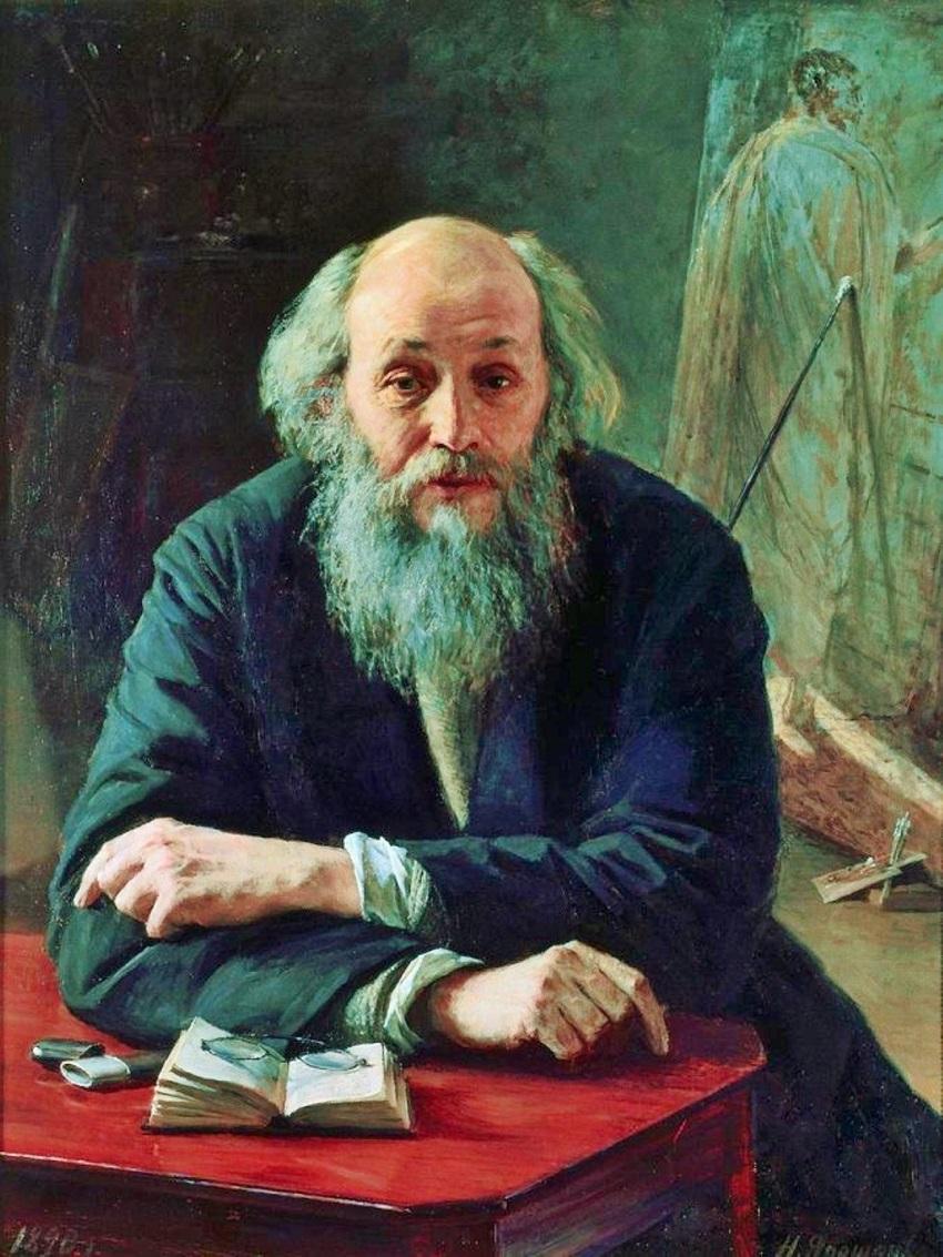 Портрет художника Николая Николаевича Ге. 1890.jpg