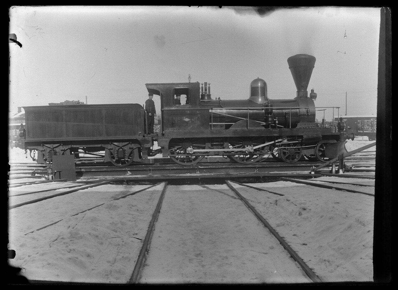 1906-1907. Паровозы железной дороги Санкт-Петербург – Гельсингфорс