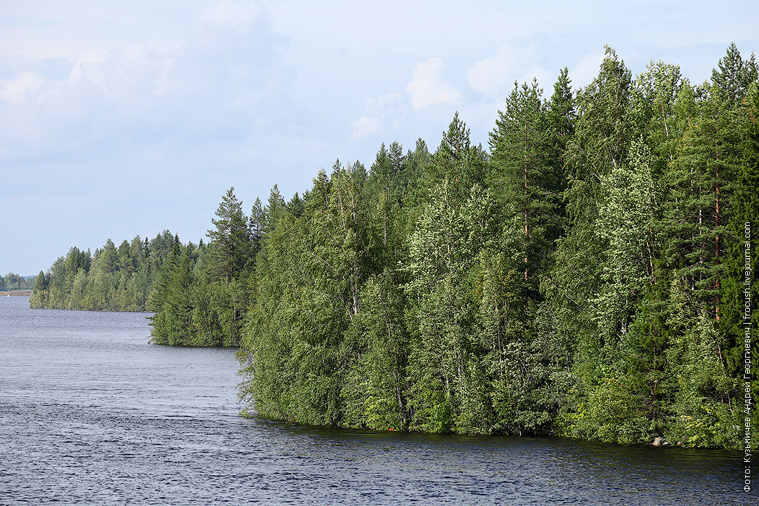 берег Беломорканала